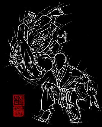 Foto: Hapkimudo Zeichnung