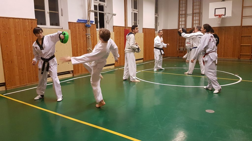 Foto: Taekwondo-Training bei DOJANG Wien in 1180
