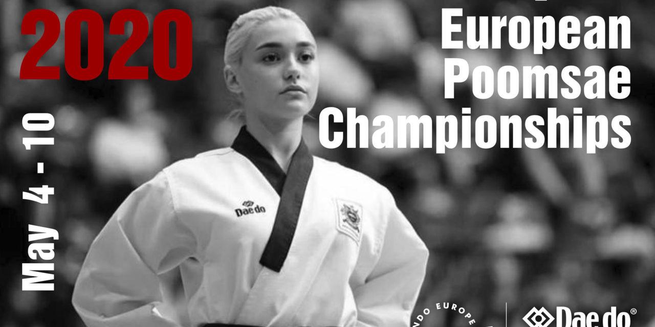 Foto: 2020 European Online Poomsae Championships