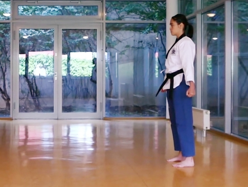 Foto: Carmina von DOJANG Wien Taekwondo, Poomsae