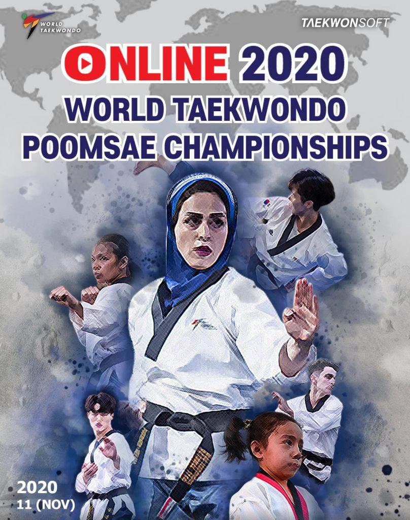 Poster: 2020 Online WT Poomsae Championships