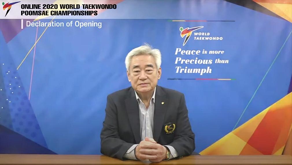 Foto: Online 2020 Taekwondo World Poomsae Championships - Opening Chungwon Choue