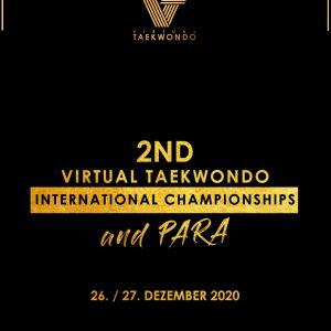 Foto: 2nd Virtual Taekwondo International Championships 2020