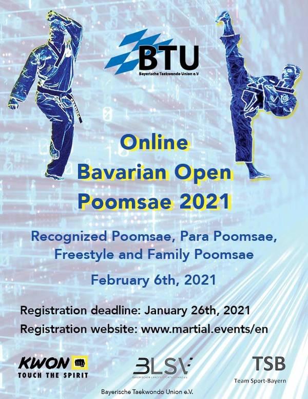 Foto: Bavarian Open Technik 2021, Plakat