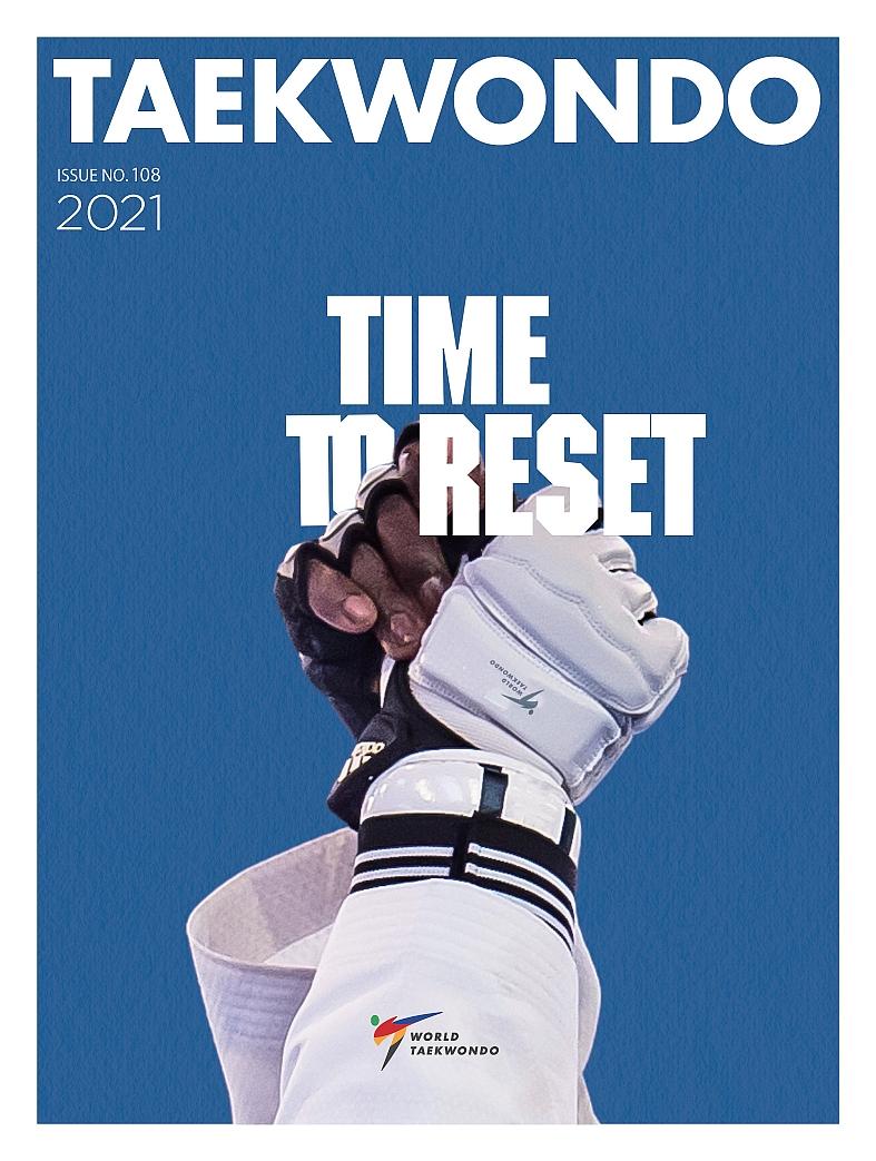 Foto: Taekwondo Magazine 2021 Cover