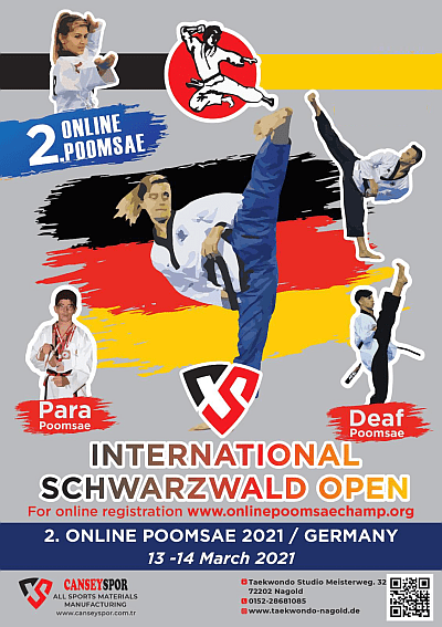 Foto: 2. Schwarzwald Open 2021, Poster