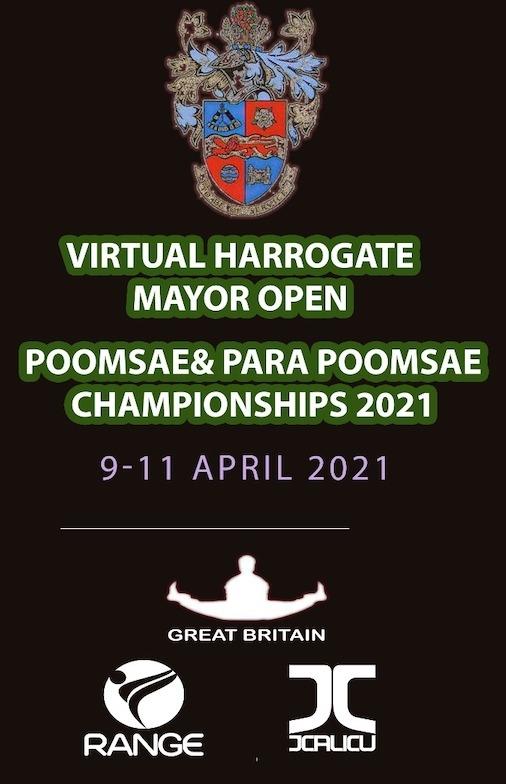 Foto: Virtual Harrogate Mayor Open Poomsae Championships 2021, Poster