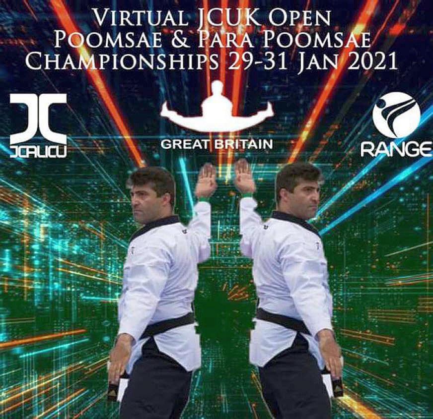 Foto: Virtual JCUK Open Poomsae Championships 2021, Poster
