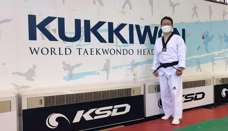 Foto: Ik-pil Kang im Kukkiwon