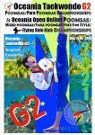Foto: Oceania Taekwondo G2 Poomsae Championships 2021, Poster