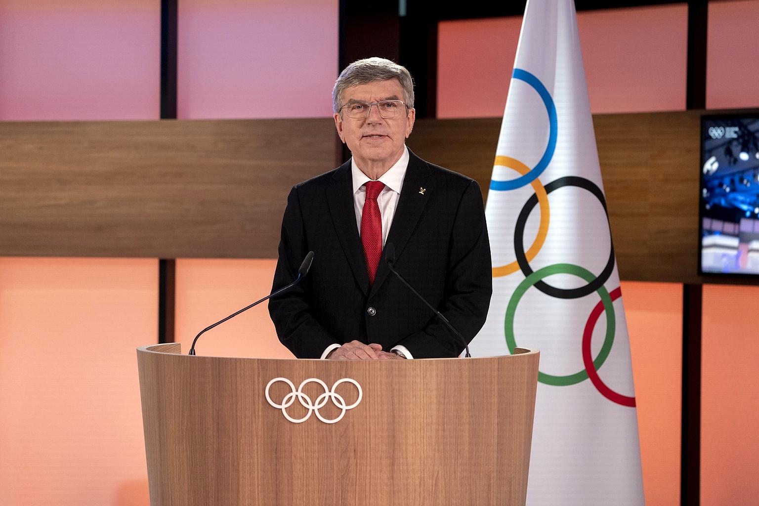 Foto: Thomas Bach als IOC Präsident wiedergewählt - © IOC