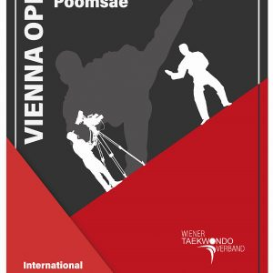 Poster: Vienna International Open Poomsae Championships 2021, web
