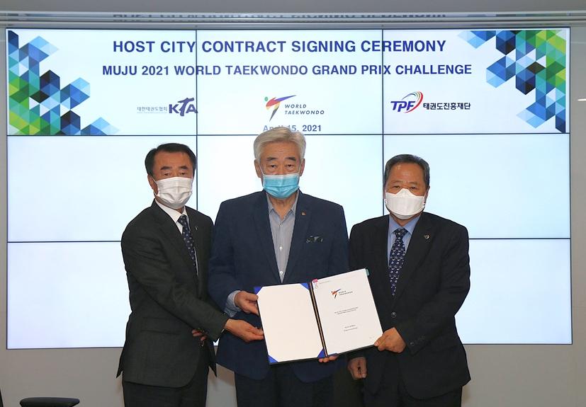 Foto: World Taekwondo Grand Prixe Challenge 2021 Chongwon Choue