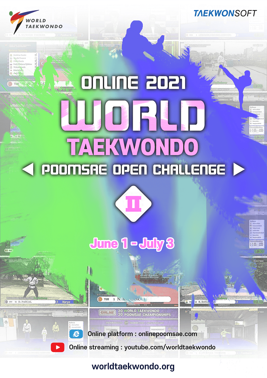 Foto: Online 2021 World Taekwondo Poomsae Open Challenge II, Jun 1 - Jul 3, Online